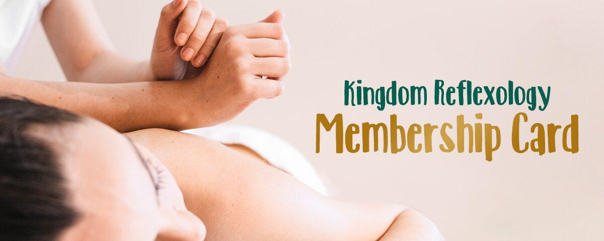 Kingdom Reflexology Membership Card