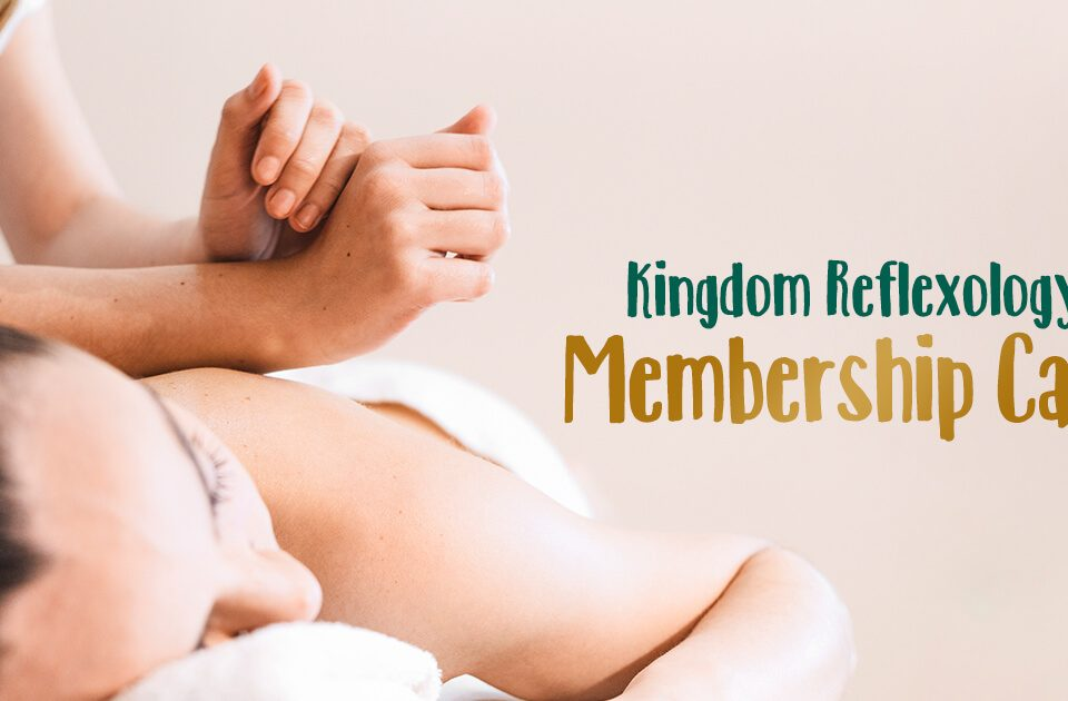 Kingdom Reflexology Membership Card